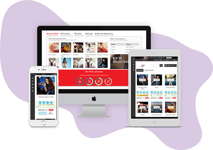 SOO Magic Menu - Responsive Menu Prestashop Module